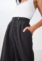 Cotton On - Nikki culotte pant  - black
