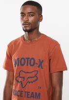 Fox - Strength short sleeve tee - rust