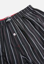 Jockey - 2 Pack woven boxer - red & black