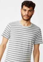 Cotton On - Triple stripe Tbar - grey