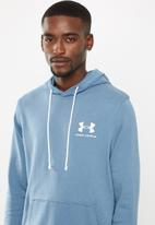 Under Armour - Sportstyle terry hoodie - blue