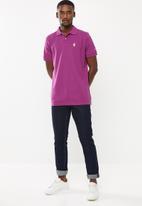 Pringle of Scotland - St Augustine styled golfer - purple