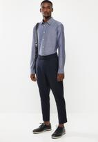 STYLE REPUBLIC - Button-up long sleeve shirt - navy