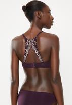 DORINA - Balcony bra - purple