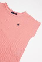POLO - Girls candice knitted blouse - pink