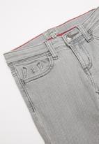 POLO - Girls keira glitter skinny jean - grey