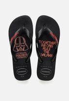 Havaianas - Star Wars flip flop - black & red