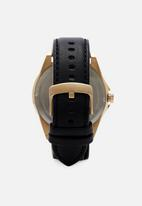 Armani Exchange - Drexler - black & gold