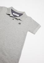 UP Baby - Soft jersey polo - grey
