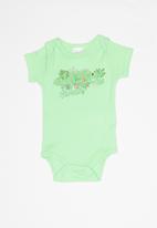 UP Baby - Soft jersey bodysuit - green