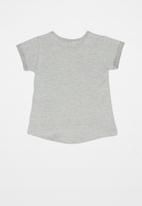 Quimby - Jersey top - grey