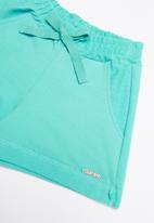 Quimby - Sweat shorts - green