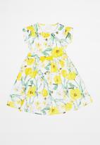 Quimby - Elastane jersey dress - yellow