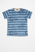 Quimby - Single jersey T-shirt - blue