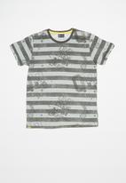 Quimby - Single jersey T-shirt - dark grey