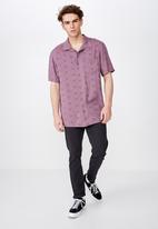 Factorie - Resort shirt - purple