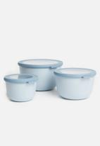 Mepal - Cirqula bowl set 3 pcs - blue