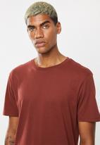Superbalist - Longline curved hem short sleeve 3 pack tees - multi