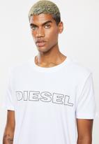Diesel  - Umlt-jake maglietta short sleeve tee - white