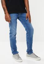 Diesel  - Thommer 5 pocket slim skinny jeans - blue