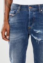 Diesel  - Tepphar-x l.32 pantaloni carrot leg jeans - blue