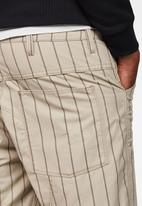 G-Star RAW - Lucas canvas pin str 2 ao shorts - khaki/praline