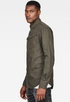 G-Star RAW - Arc 3d slim shirt - asfalt