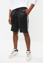 Superbalist - Tricot side taped shorts - black