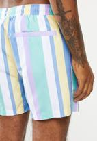 New Look - Vertical stripe swimshorts - multi