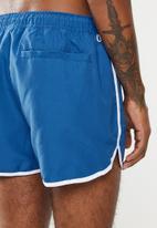 New Look - Basic runner swimshorts - blue