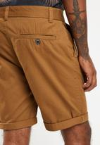 New Look - Epp chino shorts - brown
