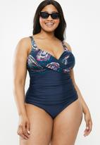 Quayside - Cross front suit - multi