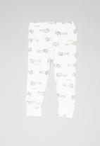 UP Baby - Soft jersey pants - white