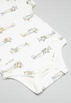 UP Baby - Soft jersey bodysuit - off white