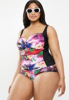 Quayside - High waisted bikini bottom - multi