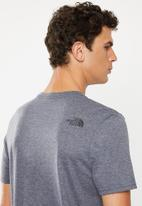 The North Face - Woodcut dome tee - grey