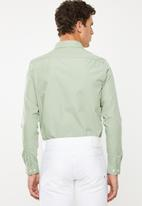New Look - New poplin long sleeve shirt - green