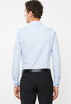 New Look - New poplin long sleeve shirt - blue