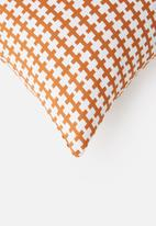Sixth Floor - Hyha cushion cover - pumkin spice