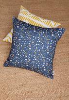 Sixth Floor - Petali cushion cover - navy