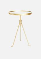 SF Collection - Opal side table - gold