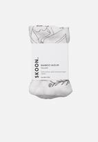 SKOON. - BAMBOO Muslin Facecloth