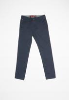 SOVIET - B maldini cotton pants - navy