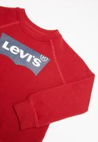 Levi's® - Boys french terry batwing pullover - red