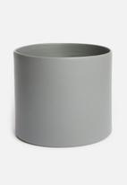 Urchin Art - Cora planter - grey