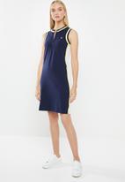 POLO - Alex sleeveless casual dress - navy