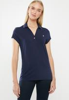 POLO - Chelsea short sleeve golfer - navy