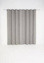 Sheraton - Manhattan eyelet curtain - charcoal melange