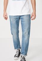 Factorie - Relaxed tapered jean - blue