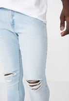 Factorie - Skinny leg denim jean - blue